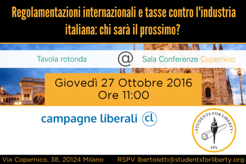Regolamentazioni internazionali e tasse contro l'industria italiana: chi sarà il prossimo?