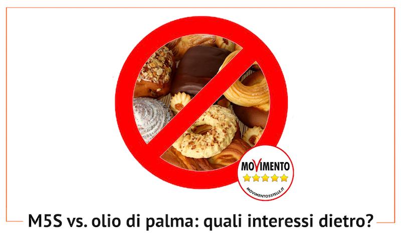 Regione Marche: M5S vieta olio di palma, Campagne Liberali scrive al Presidente
