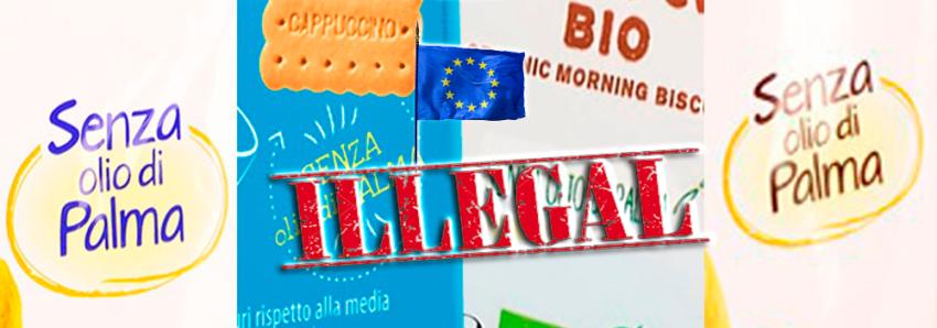 Parlamento Ue chiede di vietare dicittura 'senza olio di palma'