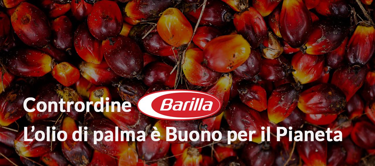 """Pan di Balle<br><font size=""""5"""">Contrordine: L'olio di palma è Buono per il Pianeta, parola di Barilla</font>"""