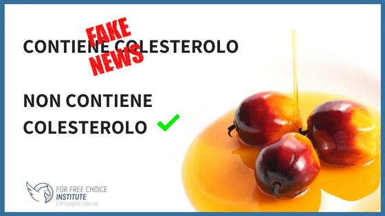 Olio di palma = colesterolo: smentiamo questa bufala!