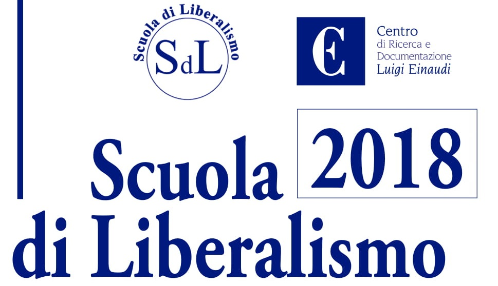 Al via la Scuola di Liberalismo 2018. Si parte da Torino!